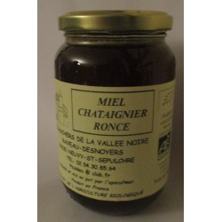 Miel chataignier ronce